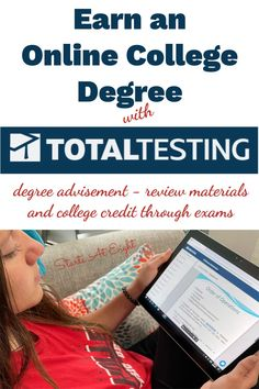 Earn an Online College Degree with Total Testing from Daemen College. In as little as 10 months your high schooler can complete 75% of their bachelor's degree! A review from Starts At Eight High School Curriculum, Alternative Education, Online College Degrees, Order Of Operations, High School Years, School Resources, Graduate School, High School Students