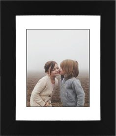 Photo Gallery Framed Print, Black, Contemporary, Black, White, Single piece, 8 x 10 inches