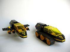 LEGO MOC   Blacktron Transports #space
