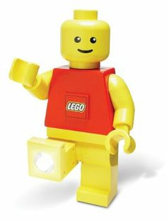 LEGO Torch by Play Visions. $18.95. Great gift for all ages. Super bright. State of the art lighting products armored in a classic LEGO form. Poseable head, arms, and light angling legs. Colors will vary. From the Manufacturer                This torch combines the fun and nostalgia of the Minifigure with a handy, reliable LED light. The Minifigure torch is your constant companion, providing light for after school chores as well as children's play. This is one versatile torch. Ba...