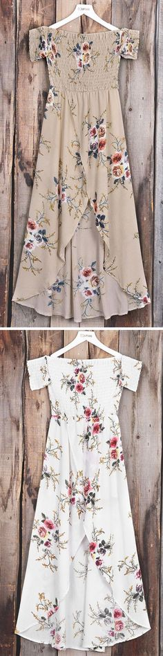 Floral has never looked better! All those patterns and colors mix and mingle in perfect harmony. Spring Summer Fashion, Spring Outfits, Pretty Dresses, Passion For Fashion, Dress To Impress, Boho Fashion, Style Me, Casual Dresses, Ideias Fashion