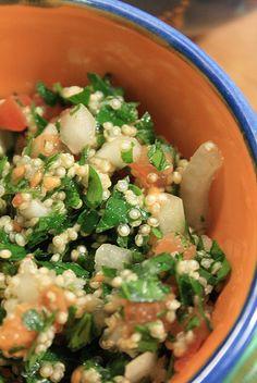 Taboulé de quinoa by MarionIon, via Flickr