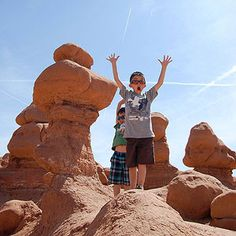 Worth the Trip: Family Vacation Ideas: Where the Wild Things Are (via FamilyFun Magazine)