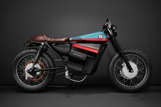 Model Electric Cafe Racer 1 Concept