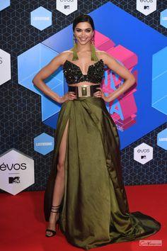 Deepika Padukone Looks Stunning At The MTV EMA Awards