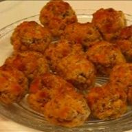 Sausage-cheese Balls with Sweet Dipping Mustard Recipe on BigOven:  Here is one of my  favorite appetizers  Sausage-Cheese Balls with  Sweet Dipping Mustard recipe. Its delicious, served hot or cold, and is  always a hit!