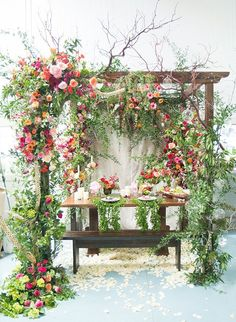 30 Over the Top Wedding Florals We Love - Inspired by This