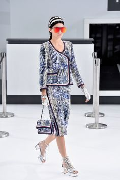 O show da Chanel na Paris Fashion Week