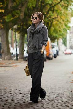 #StreetStyle  #Weekend  #Grey #Black #Fashion