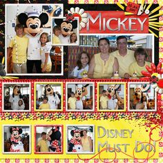 Chef Mickey's - Page 16 - MouseScrappers.com