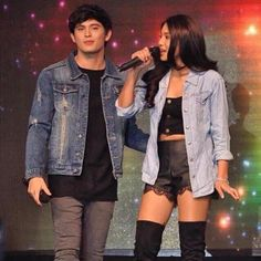 Love their outfits! James Reid, Nadine Lustre, Jadine, Fashion Outfits, Fashion Clothes, Denim, Concert, Jackets, Instagram