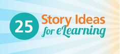 In the past decade, there has been much written about how well people learn from stories. Here is an inspiration list of stories you can use for eLearning, culled from film and fiction writing books and websites. Fiction Writing, Writing A Book, Instructional Design, Telling Stories, Storytelling, Lettering, Teaching, Thoughts, Story Ideas