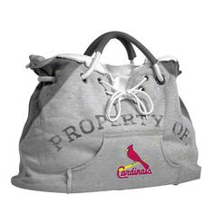 St. Louis Cardinals Hoodie Tote Bag. This would look cute with the cardinal flipflops