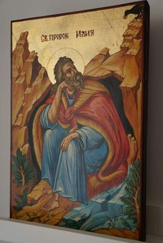 Prophet Elijah - Elias About our icons BlessedMart offers hand-painted religious icons that follow the Russian, Greek, Byzantine and Roman Catholic traditions. We partner with some of the most experienced iconographers in the country. Artists with more than 20 years of experience in modern iconography. Each and every icon that we sell in our online store is