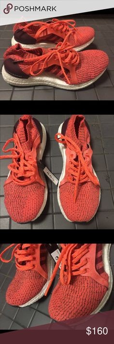 official photos e80bc 4c169 2017 Adidas coral red ultra boost sneakers bnwt Size 8. Newest model. Great  sneakers