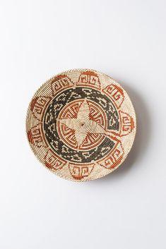 Vintage Woven Native Basket Bowl