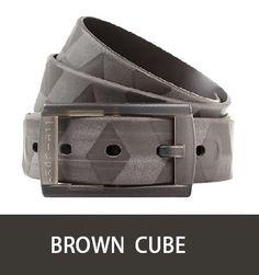 fashion belt Brown Tie-Ups