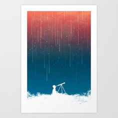 Buy Meteor Rain (light version) by Budi Kwan as a high quality Art Print. Worldwide shipping available at Society6.com. Just one of millions of products available.