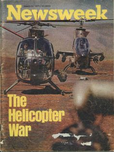 "Newsweek article calling the Vietnam War ""The Helicopter War"""