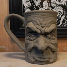 I'm not happy being here Mug- WIP by thebigduluth