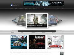 Ubisoft Assassins Creed, Web Design, Design Web, Website Designs, Site Design