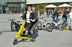 Ludwigshafener Klimawoche 2013 - Während der Klimawoche konnte man unter anderem E-Bikes bewundern, Pedelecs Probe fahren oder sein Rad reparieren und codieren lassen.