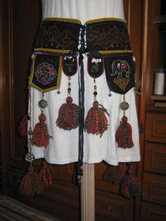 Tribal Belly Dance Tassel Belt