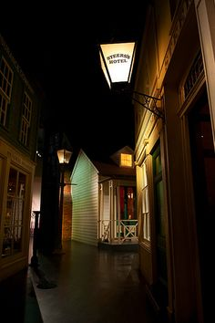 Auckland Museum Centennial Streets, 1866 Replica Streets