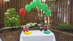 Very Hungry Catepilliar Birthday Balloons - #projectnursery