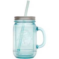 aladdin Original Aqua Insulated Mason Jar ($11) ❤ liked on Polyvore featuring home, kitchen & dining, food storage containers, fillers, kitchen, accessories, food, turquoise, mason drinking jars and aqua blue mason jars
