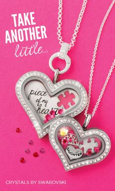 Beautiful for mother daughter or grandmother and granddaughter, its up to you.  Endless possibilities with Origami Owl