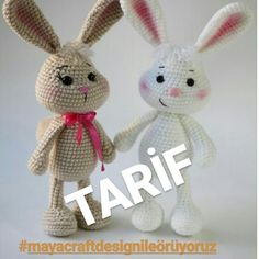 No automatic alt text available. Crochet Bunny Pattern, Crochet Birds, Crochet Patterns Amigurumi, Amigurumi Doll, Crochet Animals, Doll Tutorial, Stuffed Toys Patterns, Diy Toys, Handmade Toys