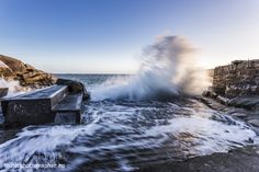 Forty Foot, Dún Laoghaire, Ireland by Alessio Michelini on Landscape Pictures, Niagara Falls, Dublin, Ireland, Landscapes, Nature, Travel, Paisajes, Scenery Paintings