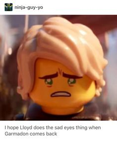 Lloyd is the king of puppy eyes and no one can tell me otherwise// you are absolutely correct. Lloyd is the official king of puppy eyes 👌🏼💚💚 Lego Ninjago Lloyd, Lego Ninjago Movie, Lego Movie, Ninjago Memes, Puppy Eyes, Cute Gay, Nostalgia, Story Of My Life, Teenage Mutant Ninja Turtles