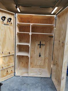 Dream Stables, Dream Barn, Horse Stables, Horse Barns, Tack Locker, Diy Locker, Tack Room Organization, Horse Tack Rooms, Tack Box