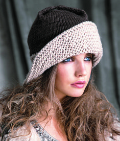 Ravelry: #14 Wide Brimmed Hat pattern by Lipp Holmfeld