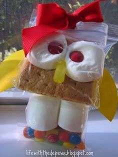 These owl s'more treats are to-die-for cute!