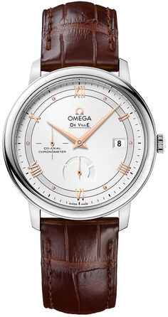 """Luxury as a Way of Life""""// Luxury Style/Omega [NEW] 39.5mm DeVille."""