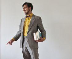 1001 ideen thema grauer anzug welches hemd passt dazu graue anz ge hemden und beige hose. Black Bedroom Furniture Sets. Home Design Ideas
