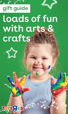 Some kids just gotta create. These arts and crafts toys make great gifts for every kiddo who needs to unleash their creative side with fashion updates, colorful masterpieces or a whole lotta slime!