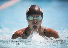 Sarah Turner of EPAC swimming the Girl's 11-12 50 yard Breaststroke.  Mid-Caps the biggest swim meet of the summer involving swimmers from youth to high school took place at the Derry Township Recreation Center pool on Saturday July, 25 2015.  Daniel Zampogna, PennLive