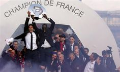 PSG are Champions of France for the first time in 19 years.