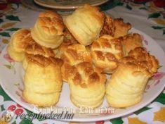 Érdekel a receptje? Kattints a képre! Hungarian Recipes, Hungarian Food, Cake Cookies, Scones, Hamburger, Biscuits, Muffin, Dairy, Bread