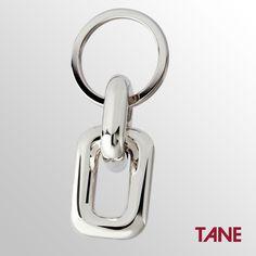 Llavero Eslabón Tule #TANE #inspiración #Tule #Novarro #hombre #plata925 #hechoamano #elegancia http://www.tane.com.mx/llaveros/
