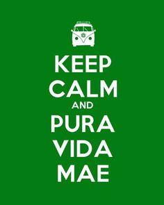 Pura Vida = Costa Rica!!