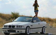 BMW E36 3 series cabrio white