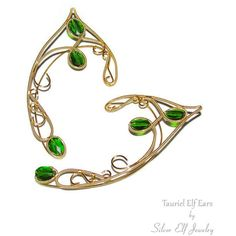 Tauriel Elf Ears, LOTR Elf Ears, elven ears, elf ear cuff, elf ear... ($54) ❤ liked on Polyvore featuring jewelry, earrings, wood jewelry, wrap jewelry, wood earrings, wooden earrings and ear cuff jewelry
