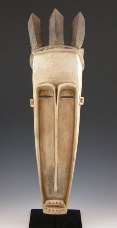 Fang mask Gabon. See too the following site for additional African mask images and information: http://www.zyama.com/index.htm
