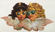 Fiorucci gift tags - I had these and loved them, circa Angel Wallpaper, Pop Art Wallpaper, Angel Drawing, Angel Aesthetic, Angel Art, Cute Illustration, Aesthetic Pictures, Cute Wallpapers, Aesthetic Wallpapers