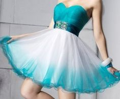 Turquoise dress, bridesmaids maybe